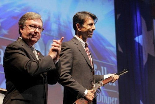 JINDAL RECEIVING RIFLE FROM NRA
