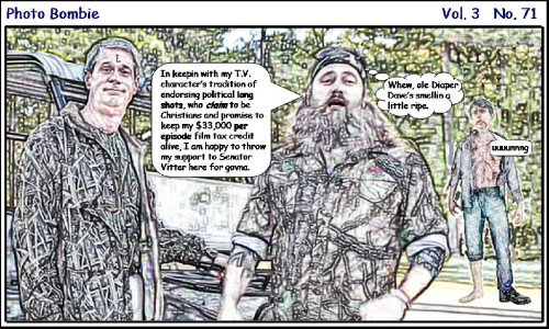 DUCK DYNASTY'S DIAPER DAVE DOOMED ENDORSEMENT
