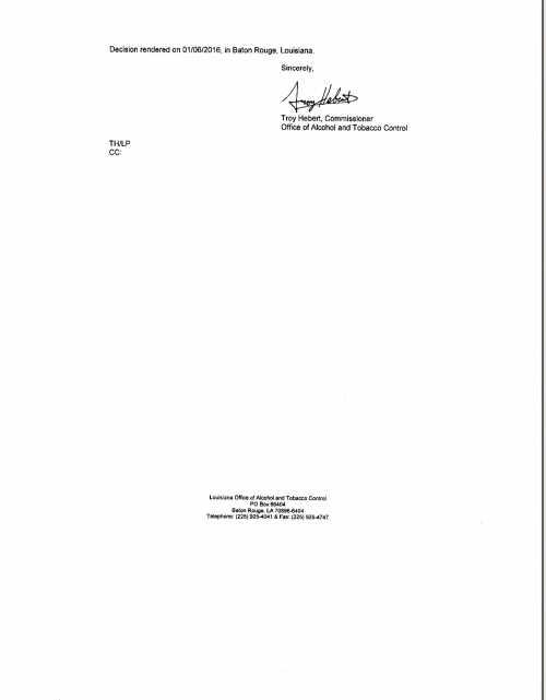 DISMISSAL LETTER PAGE 2