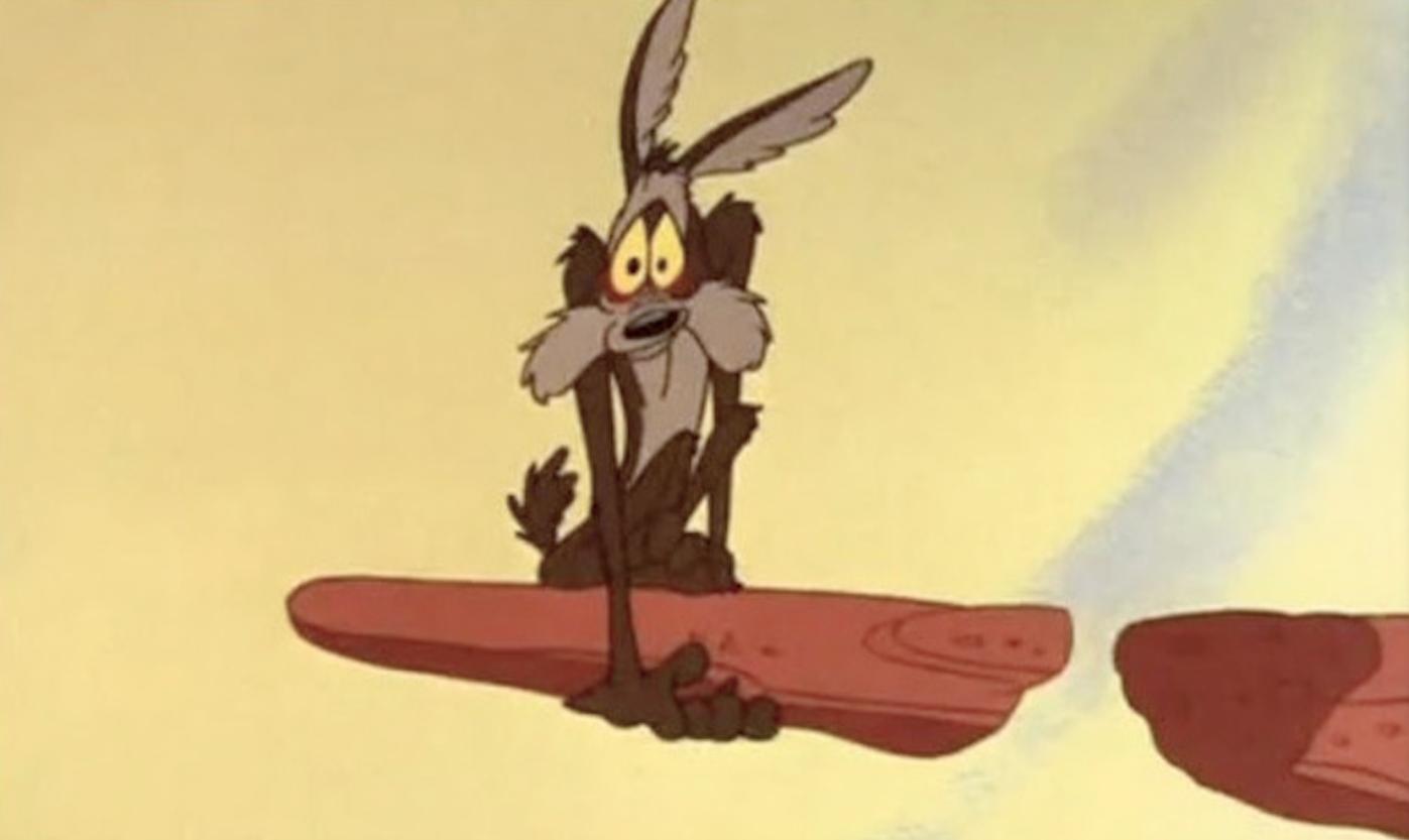 The Wile E. Coyote Rule.. Either we let our insecurities drag us…   by  Robert Cormack   Data Driven Investor   Medium